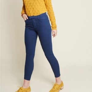 Modcloth|The Richmond Pant in Navy Blue